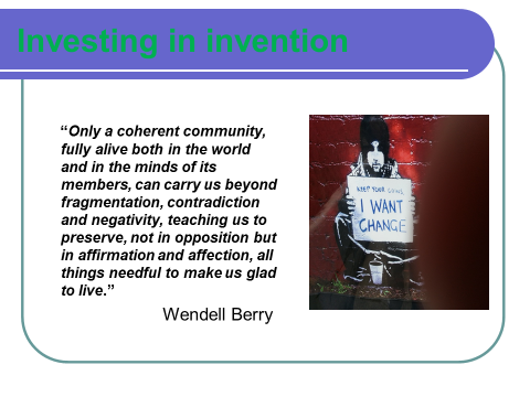 Investing in Invention